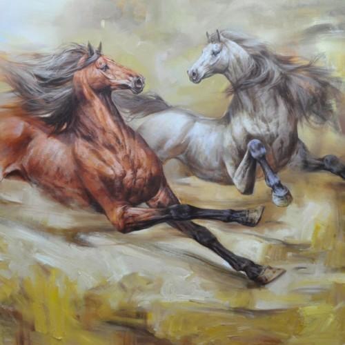 Бегущие лошади 45