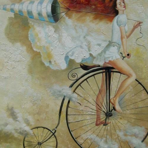 По небу на велосипеде 95