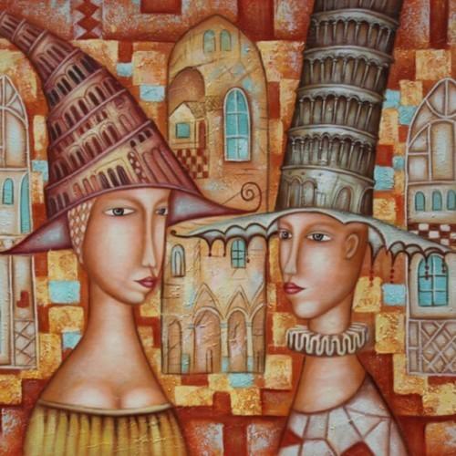 Шляпы в форме домов 100