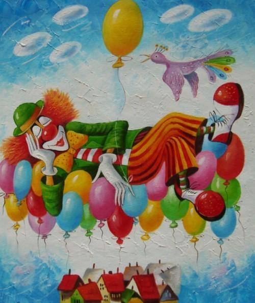 Вверх на воздушных шарах 121