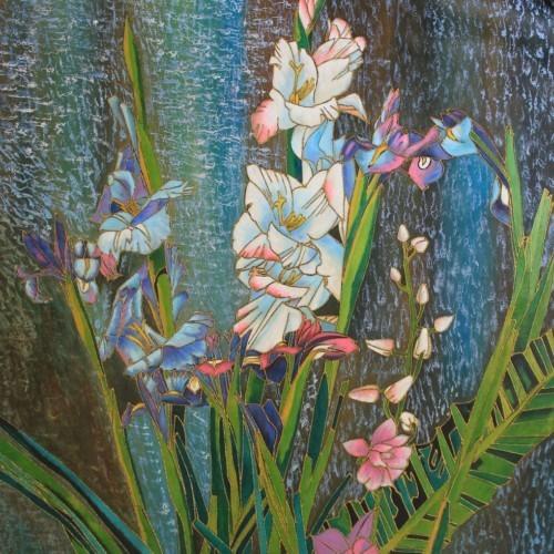 Белые лилии 136