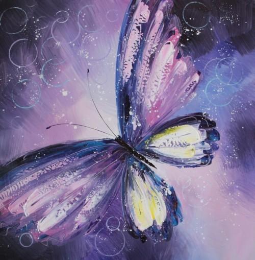 Фиолетовая бабочка 153