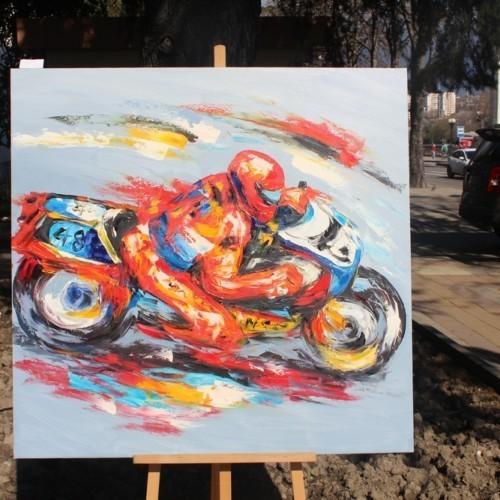 Гонщик-мотоциклист 171