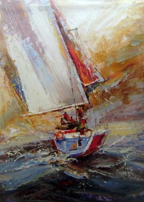 Рыбаки в открытом море 176