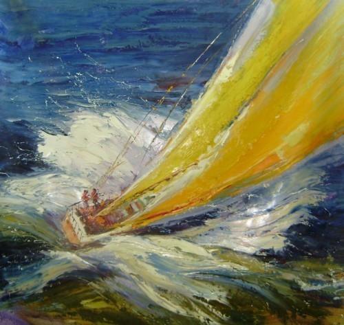 Желтые паруса 180