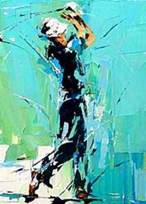 Игрок в гольф 190