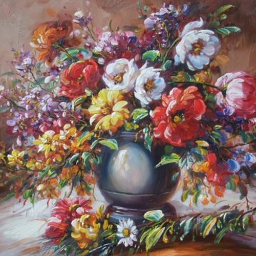 Краски лета в вазе 232