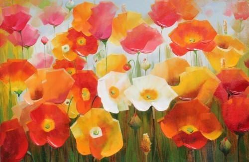 Поле цветов 260