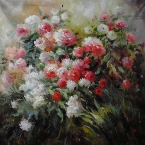 Кустовые цветы 266