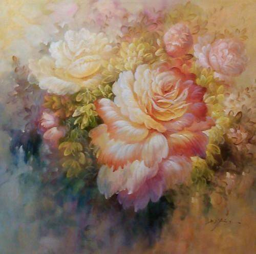 Нежные лепестки цветов 276