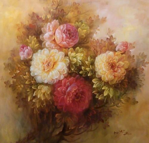Цветочный натюрморт 277