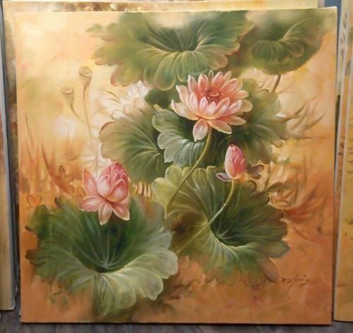 Розовые кувшинки 278