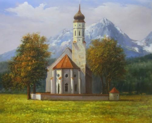 Церковь в горах 447
