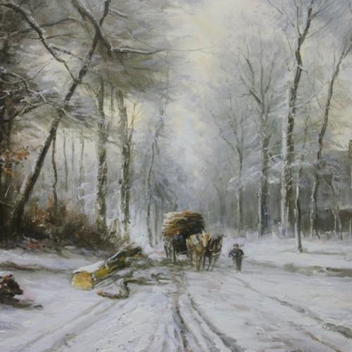 В лес за дровами 449