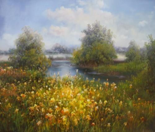 Очарование полевых цветов 456