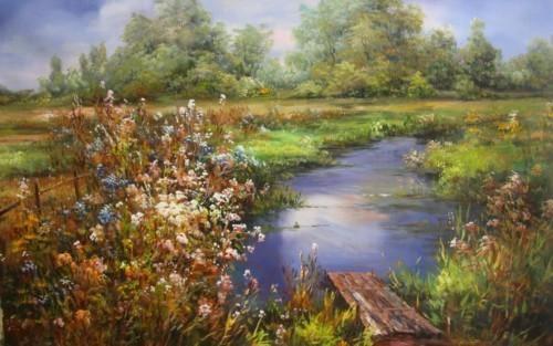 Цветущее озеро 457