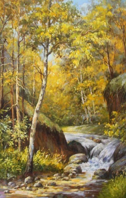 Осенний ручеек 463