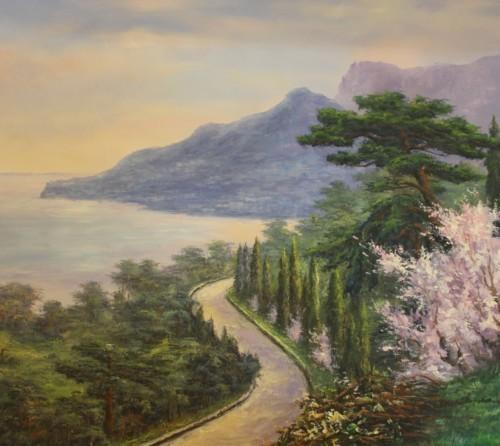 Деревья у дороги 506