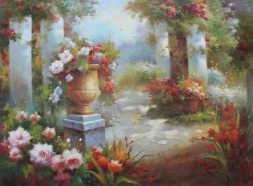 Цветочные клумбы 530
