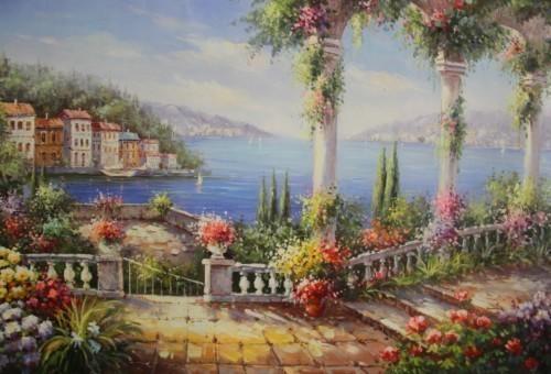 Лестницы в цветах 534
