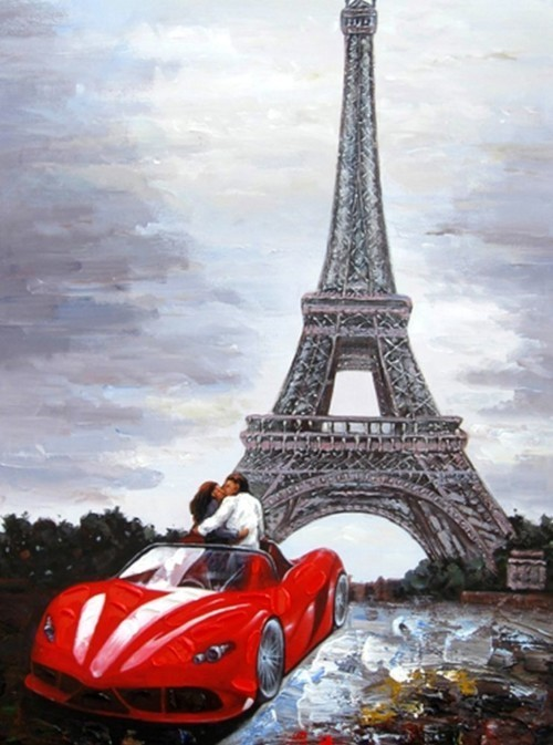 Посещение Парижа 584