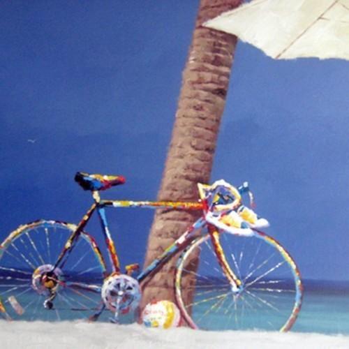 Велосипед на пляже 592