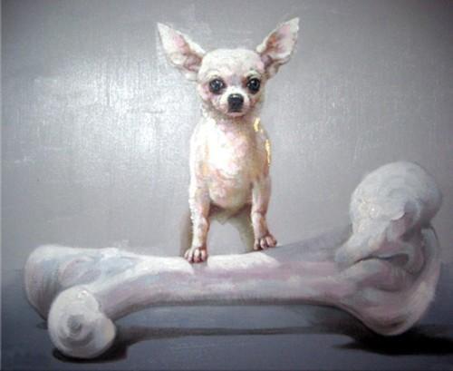 Собачка и большая кость 603