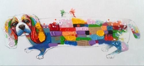 Собака разноцветная 607