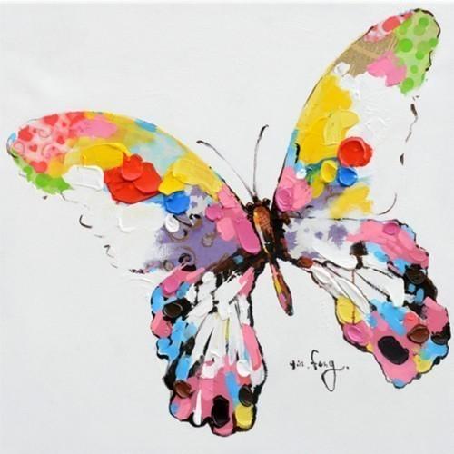 Бабочка в цвете 624