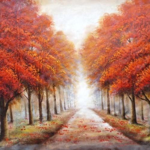 Городская аллея осенью 630