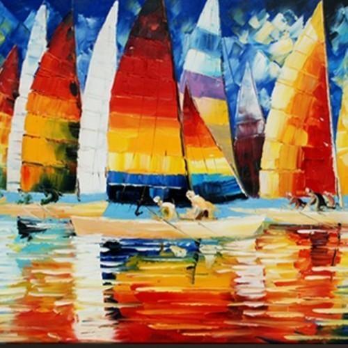 Разноцветные паруса 657