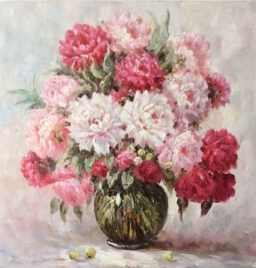 Букет из садовых цветов 702