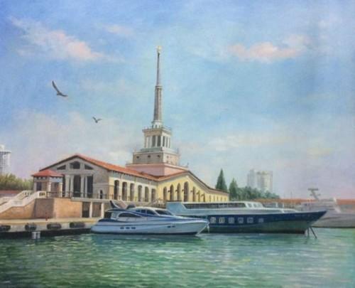 Морской порт Сочи 711