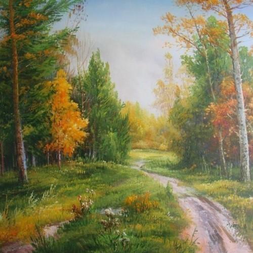 В лесу 734