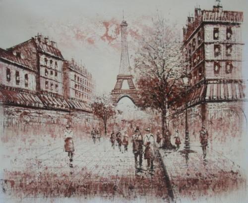 Виды Парижа 778