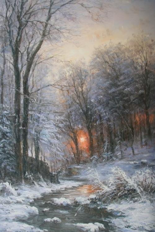 Зимний лес 780