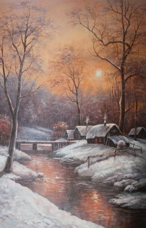 Холодное утро 781
