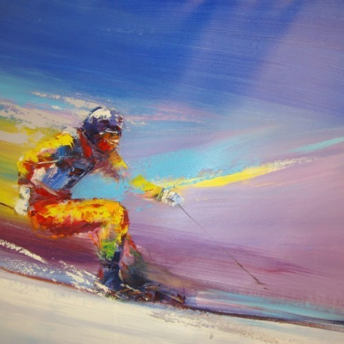 Лыжник 807