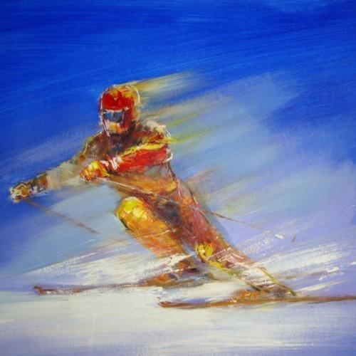 Лыжник 808