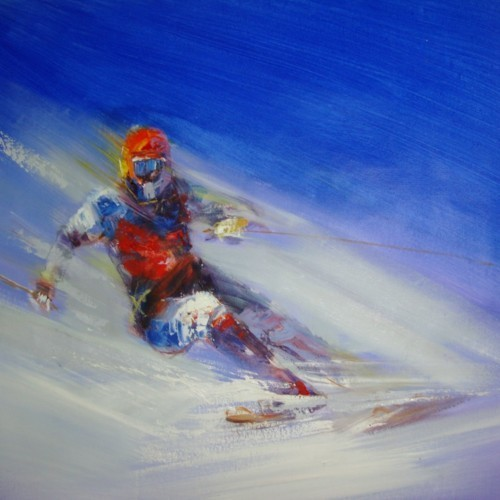 Лыжник 809
